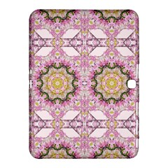 Floral Pattern Seamless Wallpaper Samsung Galaxy Tab 4 (10 1 ) Hardshell Case  by Simbadda