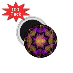 Pattern Design Geometric Decoration 1 75  Magnets (100 Pack)  by Simbadda