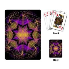 Pattern Design Geometric Decoration Playing Card by Simbadda
