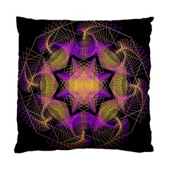Pattern Design Geometric Decoration Standard Cushion Case (two Sides) by Simbadda