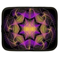 Pattern Design Geometric Decoration Netbook Case (xxl)  by Simbadda