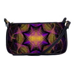 Pattern Design Geometric Decoration Shoulder Clutch Bags by Simbadda