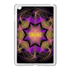 Pattern Design Geometric Decoration Apple Ipad Mini Case (white) by Simbadda
