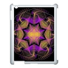 Pattern Design Geometric Decoration Apple Ipad 3/4 Case (white) by Simbadda