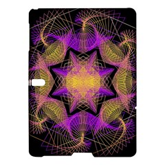Pattern Design Geometric Decoration Samsung Galaxy Tab S (10 5 ) Hardshell Case  by Simbadda