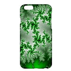 Green Fractal Background Apple Iphone 6 Plus/6s Plus Hardshell Case by Simbadda