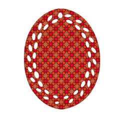 Abstract Seamless Floral Pattern Ornament (oval Filigree) by Simbadda