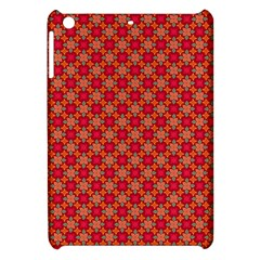 Abstract Seamless Floral Pattern Apple Ipad Mini Hardshell Case by Simbadda