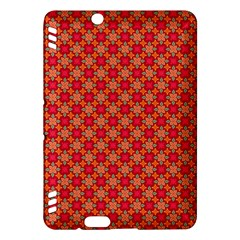 Abstract Seamless Floral Pattern Kindle Fire Hdx Hardshell Case by Simbadda