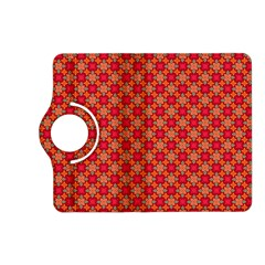 Abstract Seamless Floral Pattern Kindle Fire Hd (2013) Flip 360 Case by Simbadda