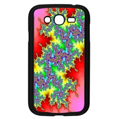 Colored Fractal Background Samsung Galaxy Grand Duos I9082 Case (black) by Simbadda
