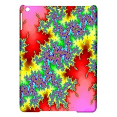 Colored Fractal Background Ipad Air Hardshell Cases by Simbadda