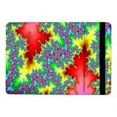 Colored Fractal Background Samsung Galaxy Tab Pro 10 1  Flip Case by Simbadda