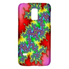Colored Fractal Background Galaxy S5 Mini by Simbadda