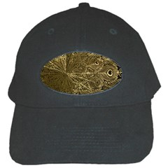 Peacock Metal Tray Black Cap by Simbadda