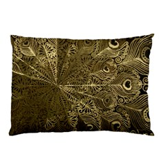 Peacock Metal Tray Pillow Case by Simbadda
