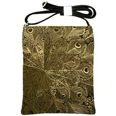 Peacock Metal Tray Shoulder Sling Bags by Simbadda