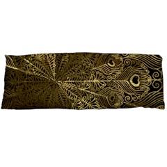 Peacock Metal Tray Body Pillow Case (dakimakura) by Simbadda