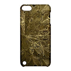 Peacock Metal Tray Apple Ipod Touch 5 Hardshell Case With Stand by Simbadda
