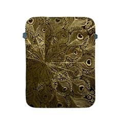 Peacock Metal Tray Apple Ipad 2/3/4 Protective Soft Cases by Simbadda