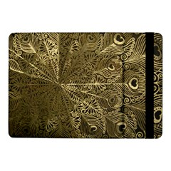 Peacock Metal Tray Samsung Galaxy Tab Pro 10 1  Flip Case by Simbadda