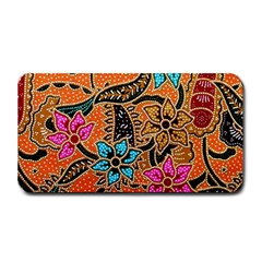 Colorful The Beautiful Of Art Indonesian Batik Pattern Medium Bar Mats by Simbadda