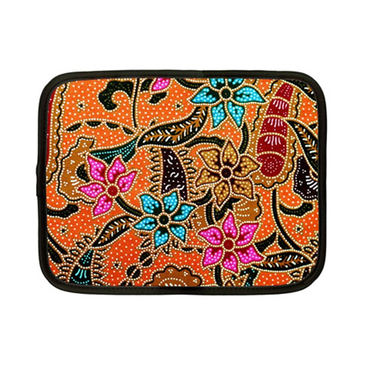Colorful The Beautiful Of Art Indonesian Batik Pattern Netbook Case (Small)