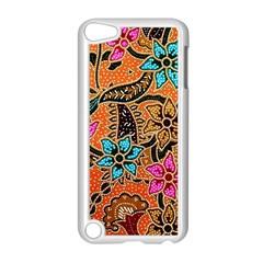Colorful The Beautiful Of Art Indonesian Batik Pattern Apple Ipod Touch 5 Case (white) by Simbadda