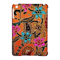 Colorful The Beautiful Of Art Indonesian Batik Pattern Apple Ipad Mini Hardshell Case (compatible With Smart Cover) by Simbadda