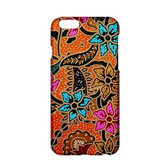 Colorful The Beautiful Of Art Indonesian Batik Pattern Apple Iphone 6/6s Hardshell Case