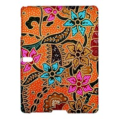 Colorful The Beautiful Of Art Indonesian Batik Pattern Samsung Galaxy Tab S (10 5 ) Hardshell Case