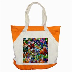 Color Butterfly Texture Accent Tote Bag by Simbadda
