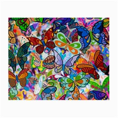 Color Butterfly Texture Small Glasses Cloth (2 Side) by Simbadda