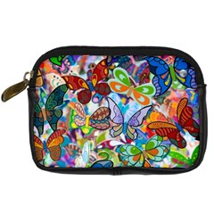 Color Butterfly Texture Digital Camera Cases by Simbadda