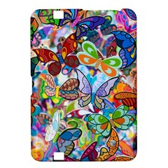 Color Butterfly Texture Kindle Fire Hd 8 9  by Simbadda