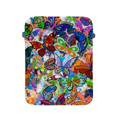 Color Butterfly Texture Apple Ipad 2/3/4 Protective Soft Cases by Simbadda