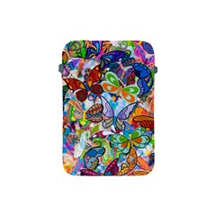 Color Butterfly Texture Apple Ipad Mini Protective Soft Cases by Simbadda