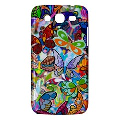 Color Butterfly Texture Samsung Galaxy Mega 5 8 I9152 Hardshell Case  by Simbadda
