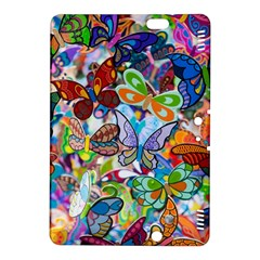 Color Butterfly Texture Kindle Fire Hdx 8 9  Hardshell Case by Simbadda