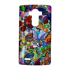 Color Butterfly Texture Lg G4 Hardshell Case by Simbadda