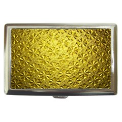Patterns Gold Textures Cigarette Money Cases by Simbadda