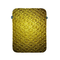 Patterns Gold Textures Apple Ipad 2/3/4 Protective Soft Cases by Simbadda