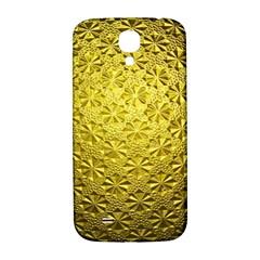 Patterns Gold Textures Samsung Galaxy S4 I9500/i9505  Hardshell Back Case by Simbadda