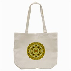 Fractal Flower Tote Bag (cream) by Simbadda