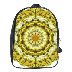 Fractal Flower School Bags(large)  by Simbadda
