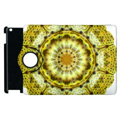 Fractal Flower Apple Ipad 2 Flip 360 Case by Simbadda