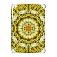 Fractal Flower Apple Ipad Mini Hardshell Case (compatible With Smart Cover) by Simbadda