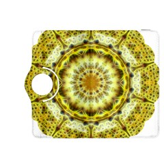 Fractal Flower Kindle Fire Hdx 8 9  Flip 360 Case by Simbadda