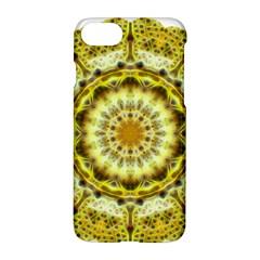 Fractal Flower Apple Iphone 7 Hardshell Case by Simbadda