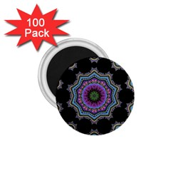 Fractal Lace 1 75  Magnets (100 Pack)  by Simbadda